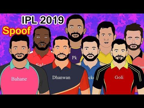 IPL 2019 - Spoof | #ipl2019