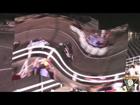 Macon Speedway USAC Midget Feature Highlights 7-1-2017.