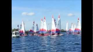 2012 Topper Open at Island Barn Reservoir Sailing Club