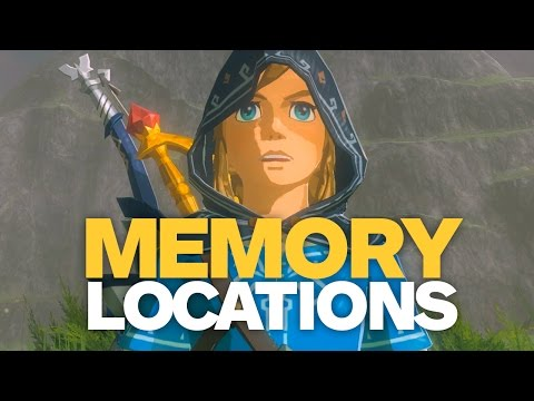 ALL CAPTURED MEMORIES Quest Locations in Zelda: Breath of th