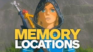 ALL CAPTURED MEMORIES Quest Locations in Zelda: Breath of the Wild