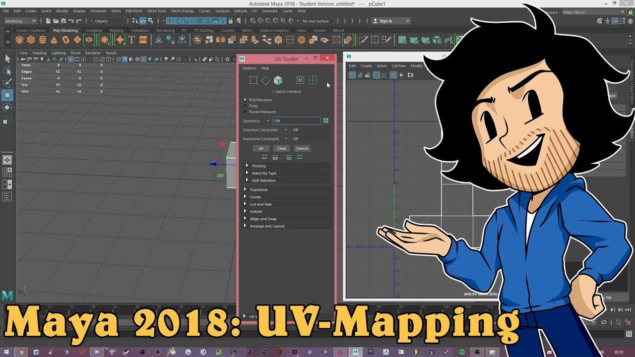 Maya uv mapping tutorial pdf