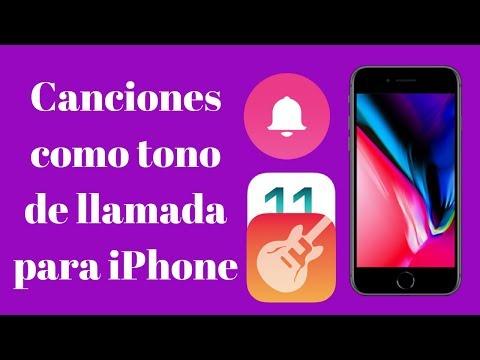 PONER CANCIONES COMO  TONO DE LLAMADA PARA iPhone iOS 10, 11.++ 2017
