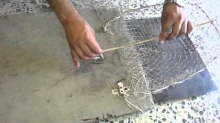 عمل الفخه لصيد البلابل
