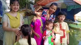 Mùng 3 tết - Múa Lân và chùa Sen Đồng Tháp - 20200127