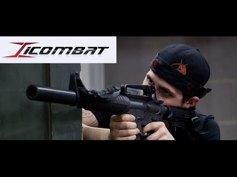 The Most Realistic Laser Tag Equipment In The World | ICOMBAT.com