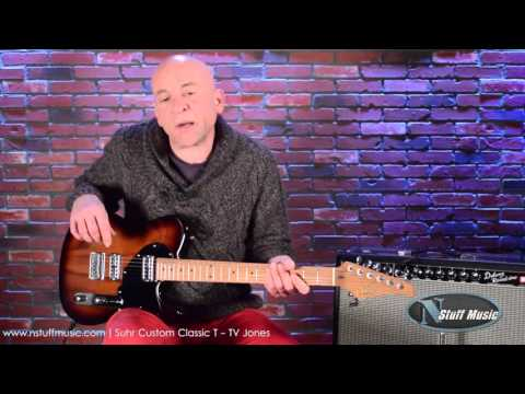 Suhr Custom Classic T - TV Jones Pickups | N Stuff Music