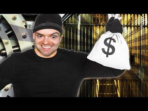 КАК ОГРАБИТЬ БАНК НА ГЛАЗАХ У ВСЕХ ► Sneak Thief |1|