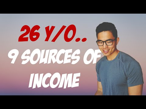 my 9 sources of income at age 26