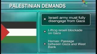 Palestinian negotiators demand disengagement, end to Israeli blockade