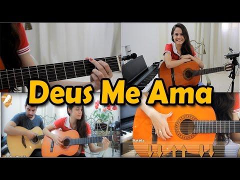 Música com 2 Acordes - Deus me Ama Thalles (aula de violão gospel)