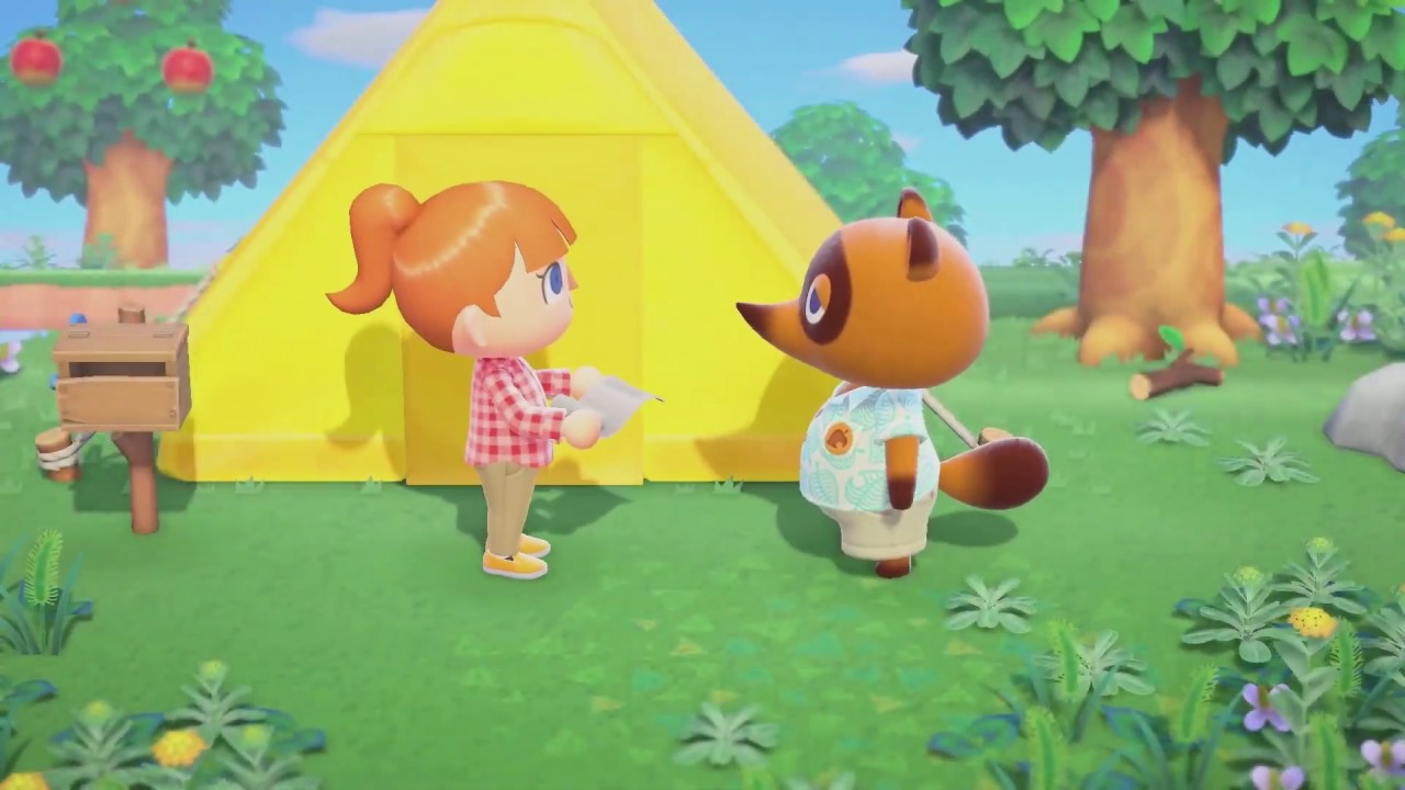 nintendo switch animal crossing gameplay