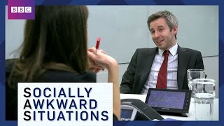 Job Interview Tips - Socially Awkward Situations - BBC Brit