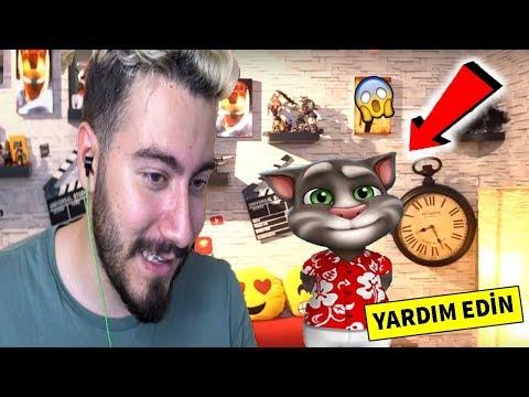 MY TALKING TOM ENES BATUR 'UN EVİNE GİTTİ !! (Gerçek😱)
