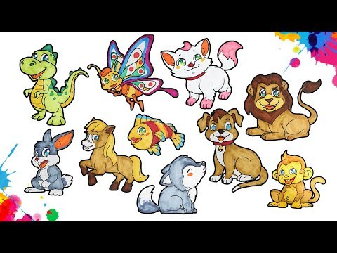 speed-drawing-10-popular-animals