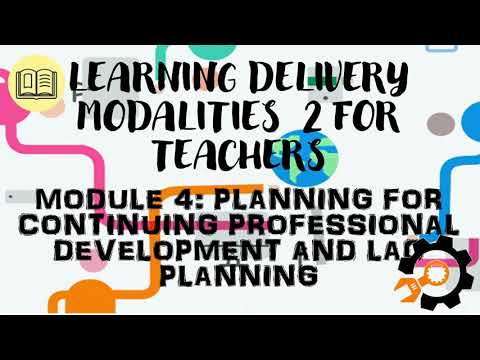 Download LDM2 for Teachers - Module 4 - Planning for Continuing Professional Development and LAC Planning