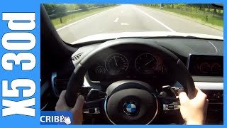 2014 F15 BMW X5 30d M-Sport GREAT! OnBoard / POV