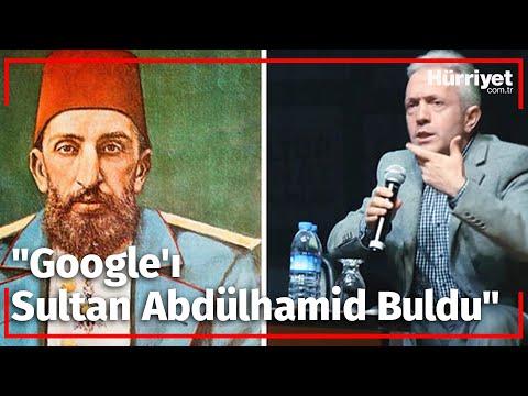 "SOFUOĞLU: ""GOOGLE'I SULTAN ABDULHAMİD BULDU"""