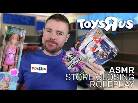 ASMR Toys R Us Store Closing Roleplay BANKRUPTCY!