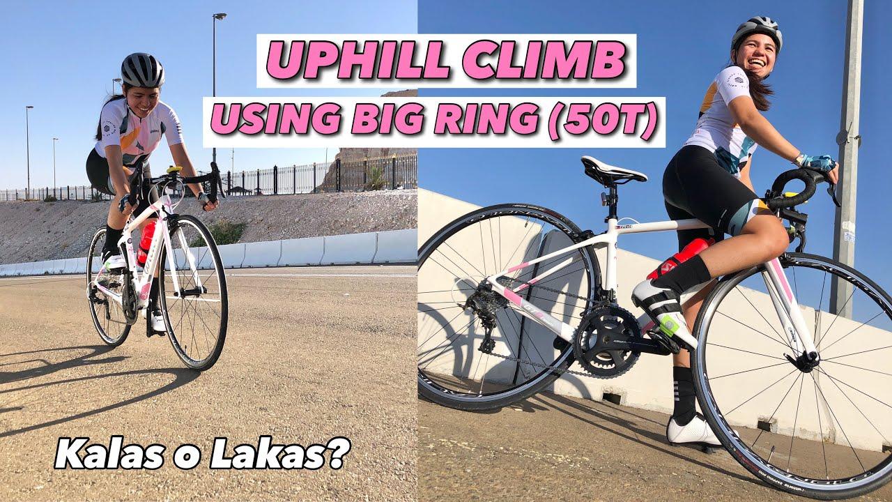 CLIMBING WITH BIG RING (50T) | KALAS O LAKAS? ft. SIROKO CYCLING JERSEY | by GAYE PARIS