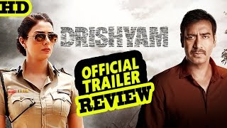 "Bollywood Movie ""Drishyam"" Official Trailer Released 