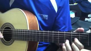 Mắt Mũi Môi - Guitar Cover by PTT