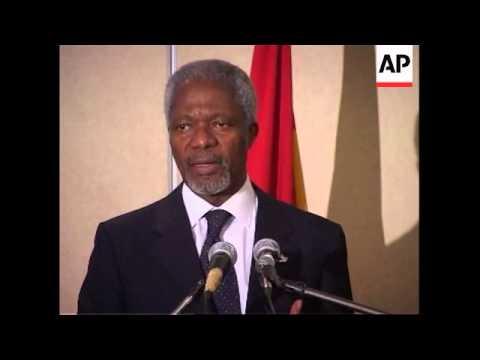 Kofi Annan helps broker Ivorian peace deal