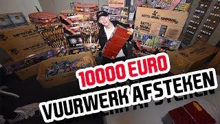 10.000 EURO AAN VUURWERK AFSTEKEN!