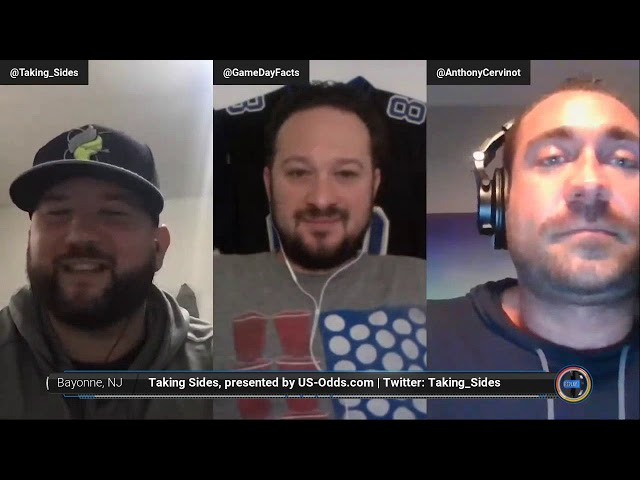 Taking Sides Podcast Presented by US-Odds.com - Tampa Bay Buccaneers at Las Vegas Raiders