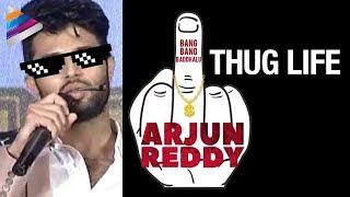 Arjun Reddy Movie Mania   Vijay Deverakonda Thug Life   Shalini Pandey   Sandeep Vanga   #ArjunReddy
