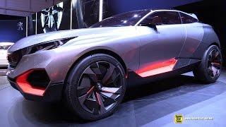 Peugeot Quartz Concept - Exterior Turnaround - 2015 Geneva Motor Show