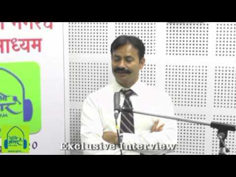 Krishna Prakash Interview , Radionagar 90.4 FM Ahmednagar