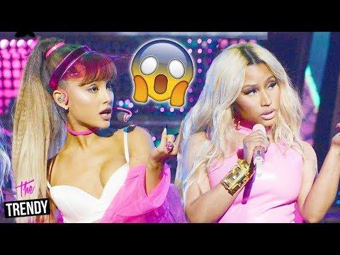 Ariana Grande Reacts To Secret Nicki Minaj Feud Mp3