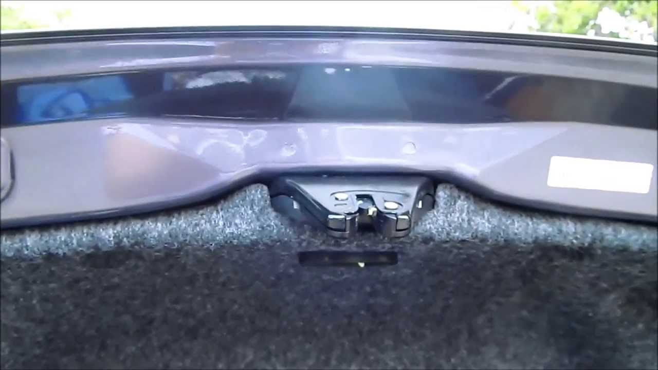 Accord Trunk Light Problem Youtube