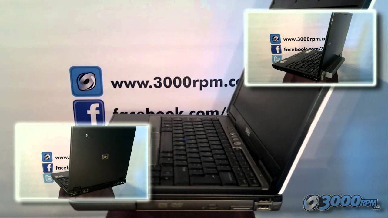 3000rpm Dell D420 Refurbished Laptop 360 View