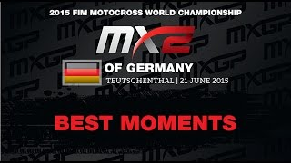 MXGP of Germany MX2 Best Moments 2015 - motocross