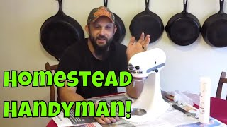 How to Replace the Grease in a KitchenAid Mixer.