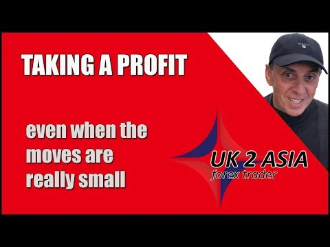 Taking A Profit Even When Moves Are Small | Forex For Beginners 2019 | How To Trade Forex 2019