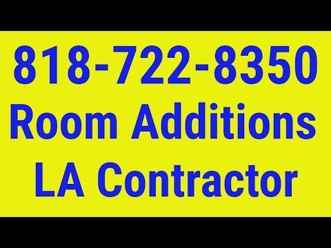 Room Addition Contractor Culver City 818-722-8350