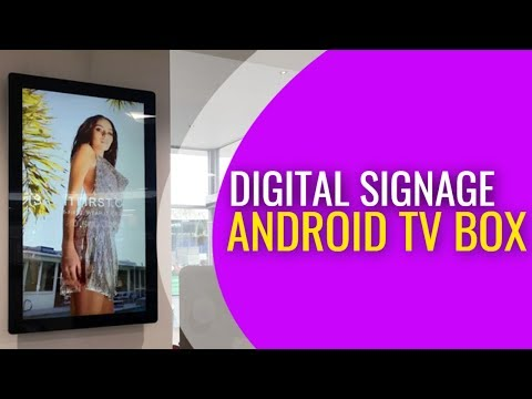 CHEAP ANDROID TV BOX: LOW COST RETAIL DIGITAL SIGNAGE  PLAYER SOLUTION
