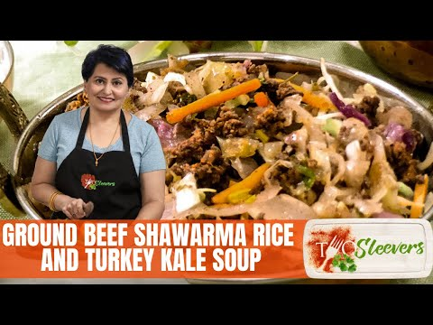 Pressure Cooker basics, Ground Beef Shawarma Rice, Turkey Kale Soup