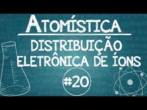 Química Simples #20 - [ATOMÍSTICA] - Distribuição Eletrônica DE ÍONS