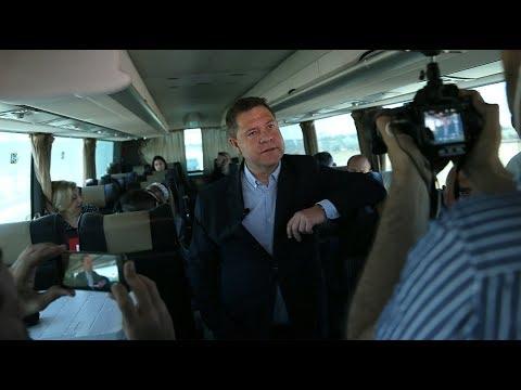 Page anuncia en San Clemente que suspende su agenda electoral por el fallecimiento de Rubalcaba