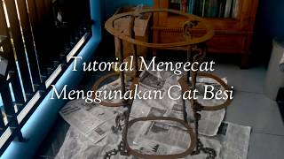 Download Video Tutorial mengeCAT Besi menggunakan cat minyak MP3 3GP MP4