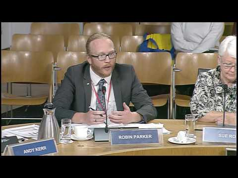 Environment, Climate Change and Land Reform Committee - Scottish Parliament: 20th September 2016