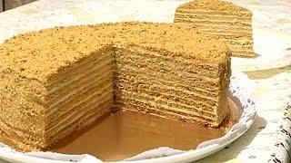 Домашний МЕДОВИК со сметанным кремом/Homemade Honey Cake