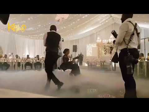 Download Banky W and Adesua Etomi's White Wedding In SA Reception Ground #BAAD2017