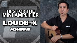 Player Tips for the Fishman Loudbox Mini Amplifier