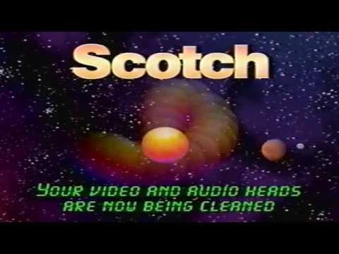 Scotch/3M #AV105 VHS Head Cleaning Cassette (2002) (VHS Rip)