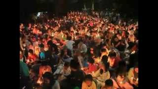 DOA 1000 anak jalanan dan yatim piatu, untuk negeri dan palestina